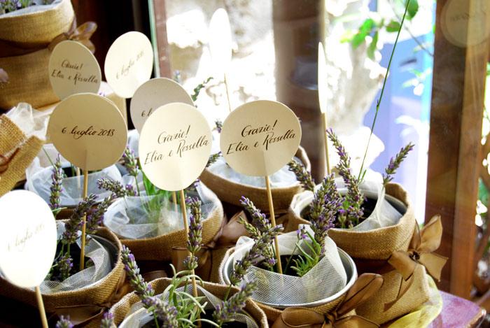 Cartellini per bomboniere letters love life for Cartellini per piante