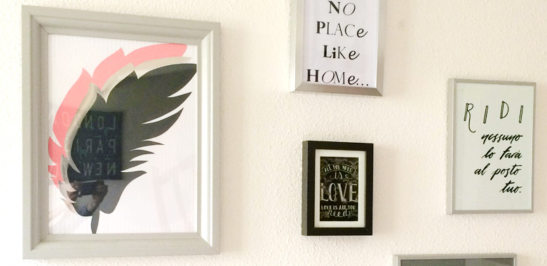 """Poster in italiano """"RIDI, nessuno lo farà al posto tuo"""" - Le vostre foto - Calligrafia Letters Love Life"""
